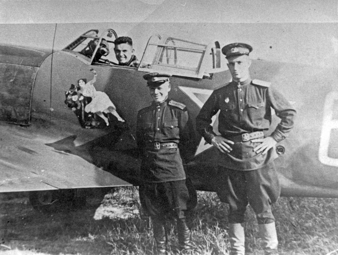 WWII photo la5f in combat.